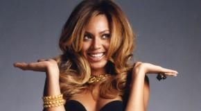 In camerino con Beyoncé
