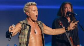 Billy Idol torna dal vivo, a Milano, il 23 novembre