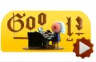 Google: il doodle per comporre come Bach