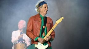 Keith Richards e l'ambiente: Paint It Green