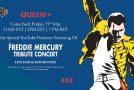 Queen: il tributo a Freddie Mercury in streaming per beneficenza