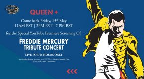 Queen: il tributo a Freddie Mercury in streaming per beneficenza