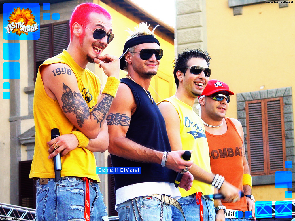 Festivalbar wallpaper gemelli diversi - Gemelli diversi video ...
